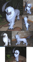 Absol papercraft by Weirda208