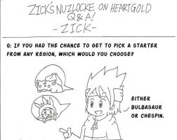 Zick's Nuzlocke On HeartGold QNA! ( ZICK ) by BakaZick