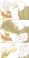 APH USUK: singing eagle by amewica