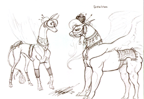 Distarhtan and guard fineries by moonfeather