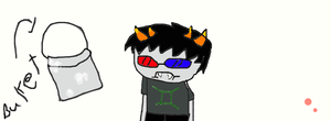 sollux and le bucket by sams-adopts
