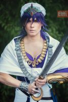 Sinbad - Magi - Cosplay by Elffi