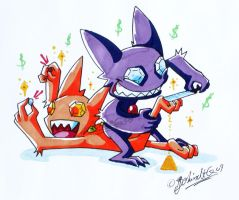 Sableye is Worth of by TamarinFrog