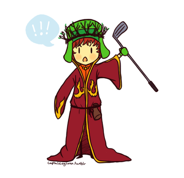 Elf King on the-Stick-of-Truth - DeviantArt  Kyle South Park Stick Of Truth