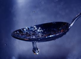 Drops on the spoon5 by MartieRM
