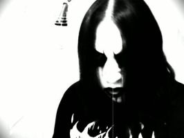 Me: Corpse Paint And Necro by Nino666