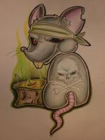 Evil Mouse, Stinky Cheese by Blixtra