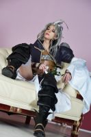 Kuja Cosplay - His Majestity by Abessinier