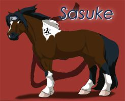 Sasuke Pony by WSTopDeck