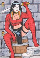 Shi Sketch Card Puzzle 2 by BillMcKay
