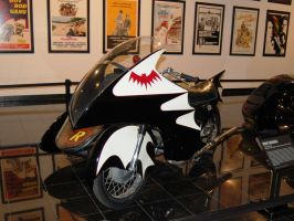 BATMAN 1966 Yamaha Batcycle TV series 1 of 2 pics by Partywave