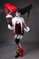 Ame Comi Harley Quinn -Trick or Treat? by Enasni-V