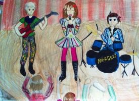 The frying pangle is apparently a band now by Kotori-PiyoPiyo