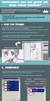 great job lined paper tutorial by suppichan