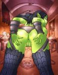 Orc gal Commission by Drunkfu