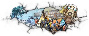 Borderlands 2 game banner V1 by FYPO