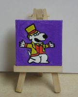 Brian  on a mini canvas by Barricade9-1-1