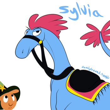 Sylvia by WolfyTails