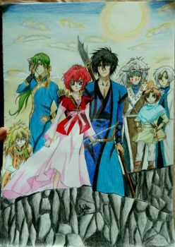 Akatsuki no Yona final by ChaoticTendencies