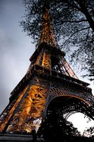 Eiffel Tower by Wild-seven07