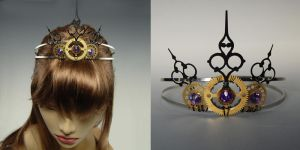 Purple Tiara- SOLD by YouniquelyChic