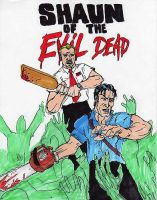 Shaun of the Evil Dead by magnetic-eye