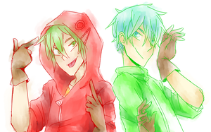 Matryoshka Guys by Annie-Aya