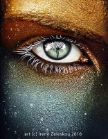 Mother earth eye by ftourini