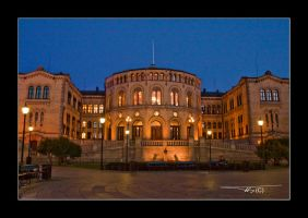 Norways parlament by OrisTheDog