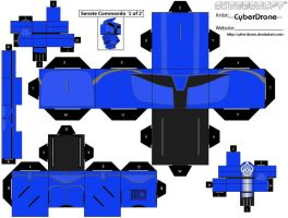 Cubee-Senate Commando '1of2' by CyberDrone