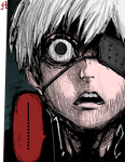 Kaneki - Tokyo Ghoul C.126 Coloring by M by MarioTheArtistM