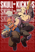 Skullkickers!!! by EzJedi