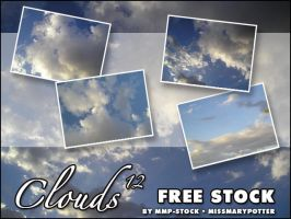FREE STOCK, Clouds 12 by mmp-stock