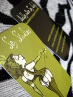 a bit burlesque business cards by seystudios