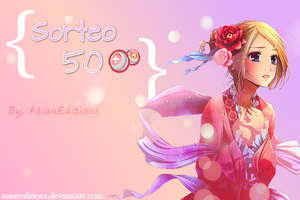 Sorteo: 50 PUNTOS! :D by AsianEditions