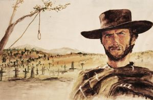 Clint Eastwood by Zusacre