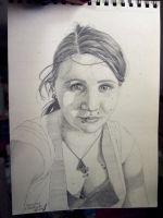 Self Portrait 3, unfinished by childofthorns