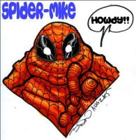 HEAD OF SPIDER MIKE by Sweet-Babboo