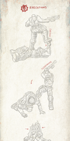 Gears of War Executions by velocitti
