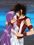 Athena y Seiya by loreley25