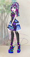 Ever After High OC: Eva witch by Kings-of-Queens
