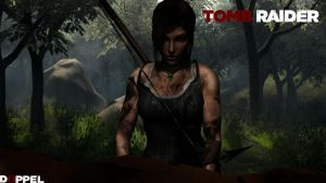 TOMB RAIDER: Forest by doppeL-zgz
