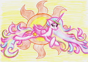 Princess of the Sun by CrestfallenCelestia