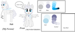 Winter Breeze reference sheet ( Adoption opened) by RainiTheHedgehog