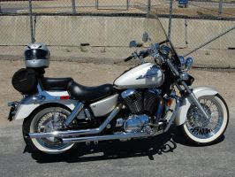 1997 Honda Shadow 1100 ACE by Partywave