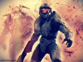 Master Chief by xCaliKidx