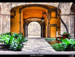 garden of doors... by archonGX