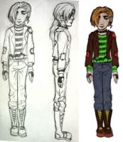 Bill Weasley Costume Design by tracypaper12