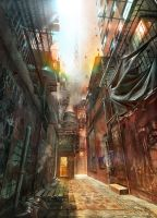 Alleyway by JonasDeRo