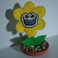 Genocide Flowey by fairy-of-illusions